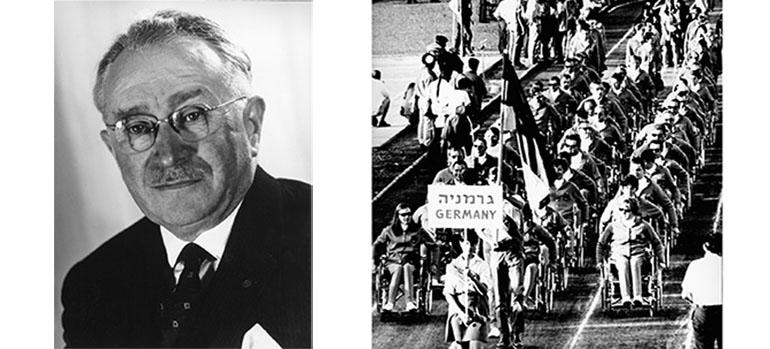 Guttmann und Paralympics inTelAviv_1968, Bild der Manfred-Sauer-Stiftung