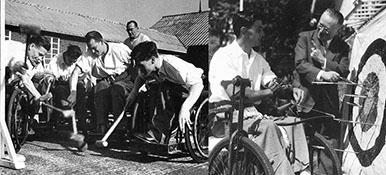 Guttmann Krikett und Bogenschießen, Bild der Manfred-Sauer-Stiftung