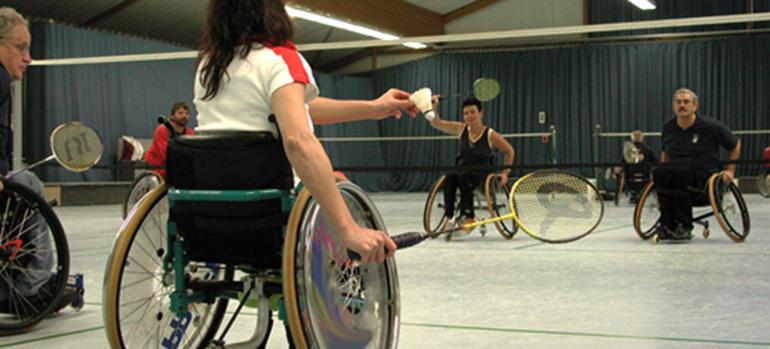Bild Badminton__02 copyright Deutscher Rollstuhl-Sportverband e. V., 2014 Mit freundlicher Genehmigung