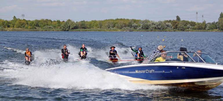 Wasserski Bild copyright Deutscher Rollstuhl-Sportverband e. V., 2014 Mit freundlicher Genehmigung