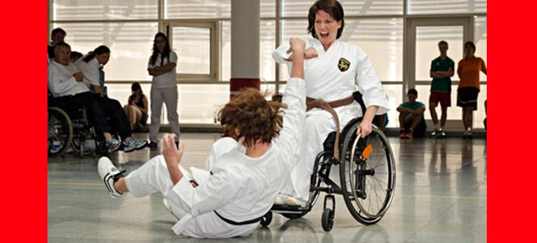 Bild Kampfkuenste copyright Deutscher Rollstuhl-Sportverband e. V., 2014 Mit freundlicher Genehmigung