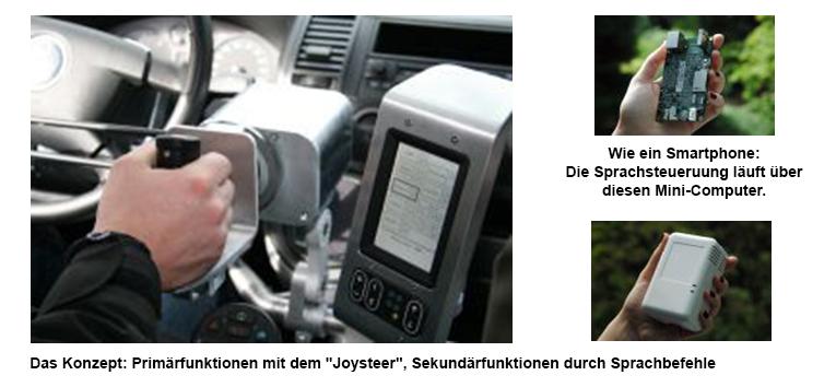 Bilc 106_5_Joysteer-3 und Sprachcomputer copyright EML und Zawatzky Automobile, 2014 Pressedownload