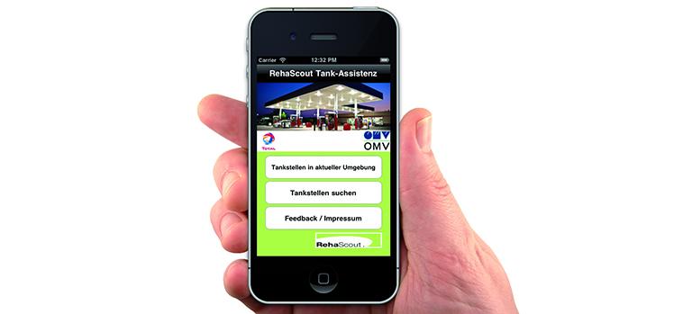 Bild Tank-Assistenz_App_druck copyright rehascout, 2012 Pressedownload