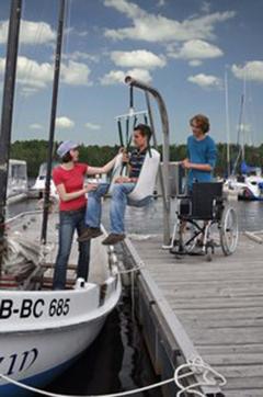 Lausitzer Seenland: Segelturn