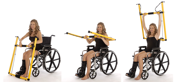 Kefty – Muskeltraining für Rollstuhlfahrer
