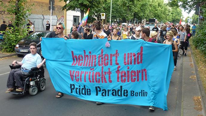 copyright Pride Parad, Mit Genehmigung von Matthias Vernaldi