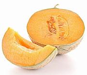 Netzmelone für süße Varianten.