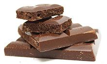 In Schokolade enthalten: Zink, Arginin und Tryptophan.