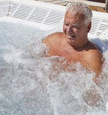 Aromatherapie im Whirlpool
