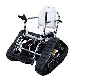 Der Action Track Chair. Nicht nur in weiß....