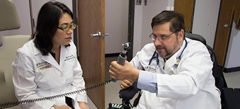 Dr. Ida Fox and Michael Bavlsik