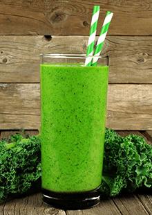 Grüne Smoothies: Randvoll mit Chlorophyll.