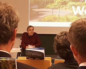 Manfred Sauer spricht zum Who is Who der Neurowissenschaften.