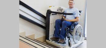 Wohnen mit Treppenlift