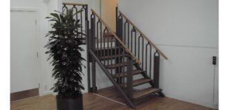 Die Treppe, die zum Lift wird