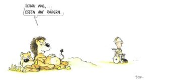"""""""Ich muss das gar nicht groß überzeichnen"""" – Phil Hubbe über seine satirischen Cartoons"""
