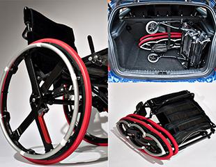 Der Originalentwurf: Folding Wheelchair von Duncan Fitzsimons