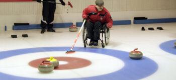 Rollstuhlcurling