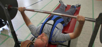Gewichtheben (Powerlifting) für Rollstuhlfahrer