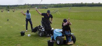Golfen: Ausrüstung für Rollstuhlfahrer