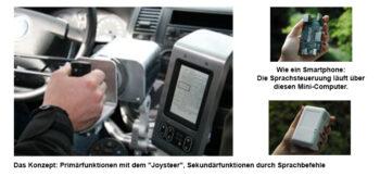 Sprachsteuerung für Fahrer mit Körperbehinderung