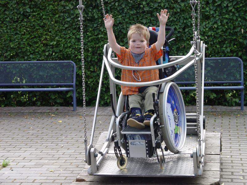 Nicht nur was für Kids: Die Rollischaukel im Mannheimer Luisenpark