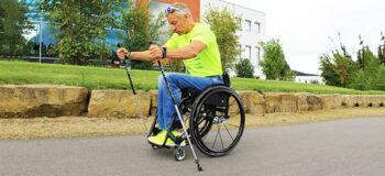 Pole Wheeling – Nordic Walking für Rollstuhlfahrer