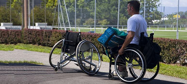 Freewheel Fitness Tracker für Rollstuhlfahrer