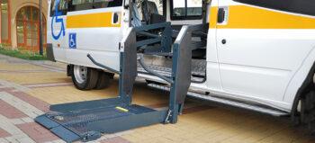 Rollstuhl-Challenge mit dem Kinobus