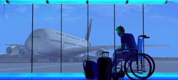 Flugreisen mit Katheter und Co.