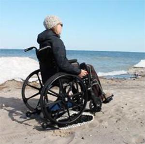 Freedom Trax: Zusatzmodul zum manuellen Rollstuhl
