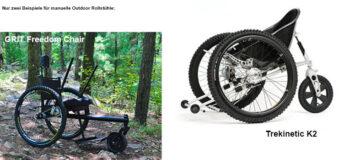 Ab ins Gelände mit manuellen Outdoor-Rollstühlen