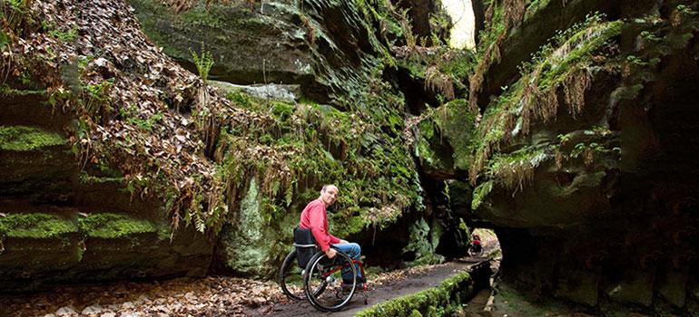 Rollstuhlgerechte Herbstkurztrips