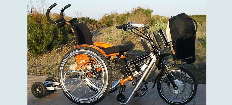 Bild Transporter Copyright Stricker Handbikes, 2015 Mit freundlicher Genehmigung von Jana Stricker