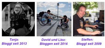 Erfolgreich Bloggen. Für Rollstuhlfahrer.