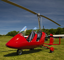 Ultraleicht gibt es auch als Hubschrauber....