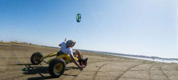 Spider Crab – Kitebuggy für Rollstuhlfahrer