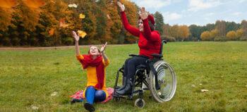 Sichtbarkeit und Sicherheit im Rollstuhl