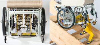Der Rollstuhl, der Treppen steigt