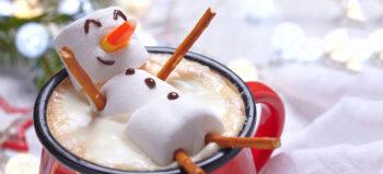 Lecker: Schmelzende und abtauchende Schneemänner
