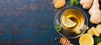 Mit Ingwer und Zitrone gegen die Erkältung