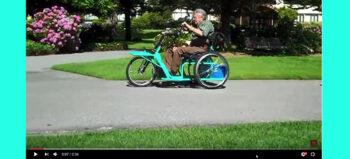 Cargo Trike für Menschen mit Gehbehinderungen