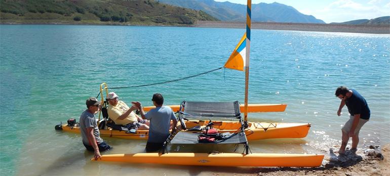 Segeln und Skifahren für Tetraplegiker