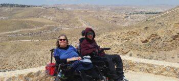 Israel: Mit dem Rollstuhl durch das Land der Bibel