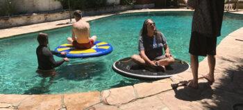 Für Rollstuhlfahrer: Die schwimmende Untertasse
