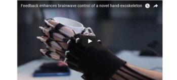 Handexoskelett – Feedback verbessert Hirnwellensteuerung