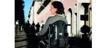 Rückenlehne zur Temperaturkontrolle im Rollstuhl