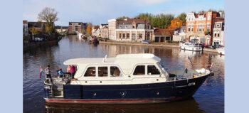 MS Aron: Rollstuhlgerechter Bootsurlaub im niederländischen Friesland
