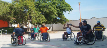 Wheelchair Flying Disc Sport (WFDS)
