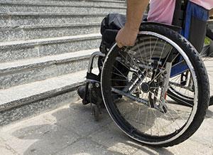 Rollstuhl pretender Redbubble logo